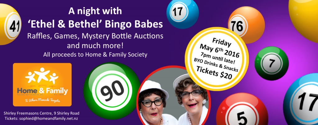 Bingo with Ethel and Bethal